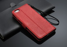 Best selling Leather back case flip full cover for iphone 6 6 plus