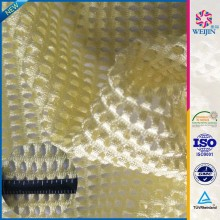 hpt-Sale Yellow Knit Illusion Dyeable Insect Mesh Fabrics