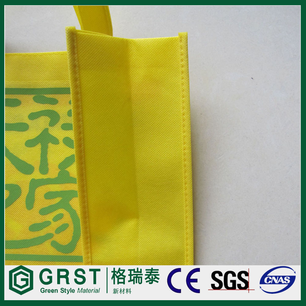 (Hot sale) gift pp nonwoven fabric shopping bag with print