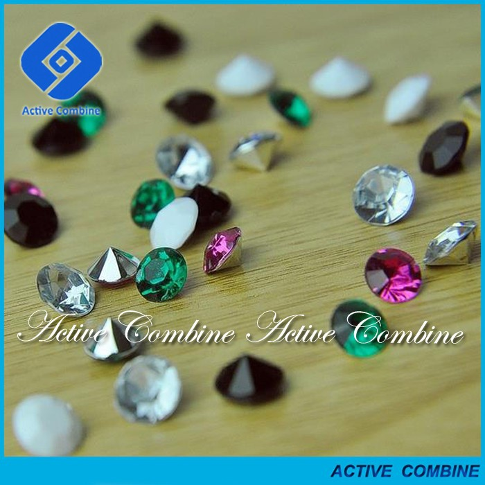hig quality guarantee wholesale point back acrylic rhinestone