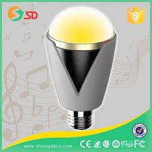 Home Party,Christmas, Stage Decoration Full Color RGB Auto Mini Motion Ce Sound Sensor Led Light Bulb 10W