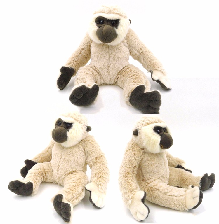New promotion plush toys giant soft toys gibbon