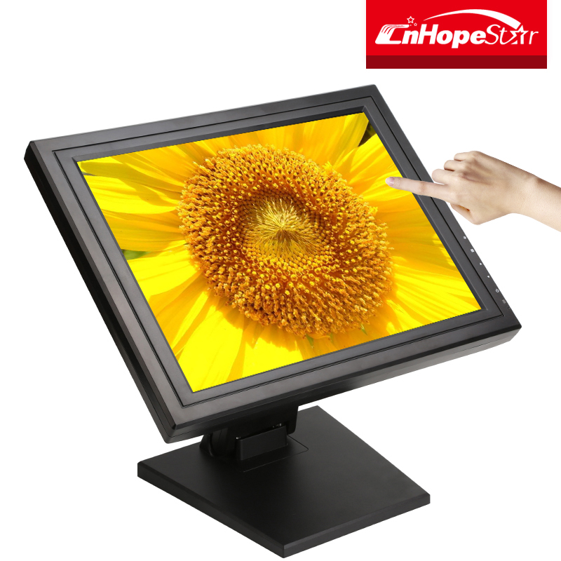 "Promotional 15 inch vga usb ports 15"" touch screen monitors"