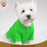 highly quality great custom pet polo shirt design clothing