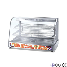 Stainless Steel Food Warming Pizza Warmer Display Vending Cabinet