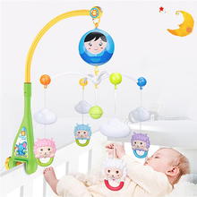 Wholesale battery operated plastic baby bell mobile