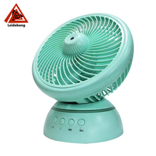 Hot sale stand air cooler rotating fan with rechargeable battery