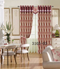 2015 turkish curtain fabric used hotel drapes for window