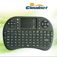 Fast Shipping New Rii mini II8 / Cloudnetgo RC6 Wireless 92-Key Keyboard QWERTY Air Mouse Multi-Media Remote Control
