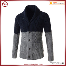 Cheap mens cardigan turtle neck Cashmere Knitwear