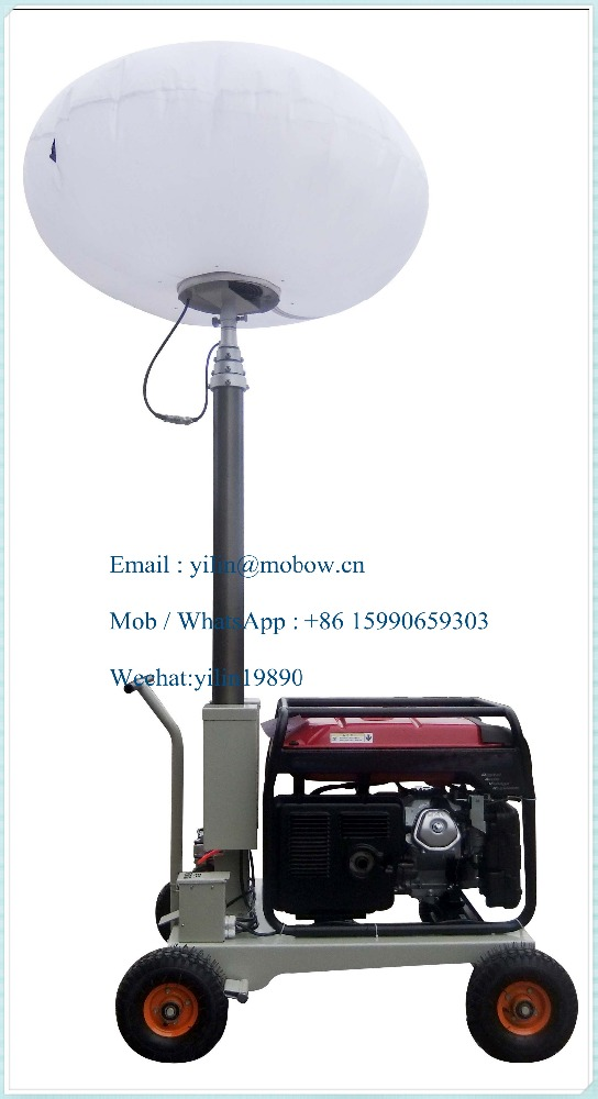2.2kw Gasoline generator balloon Light tower