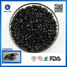 Recycled Black Color Plastic M10-30 Polypropylene PP resin