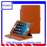 Newly Brown Stand Cover Premium Leather Case for Apple iPad mini 4