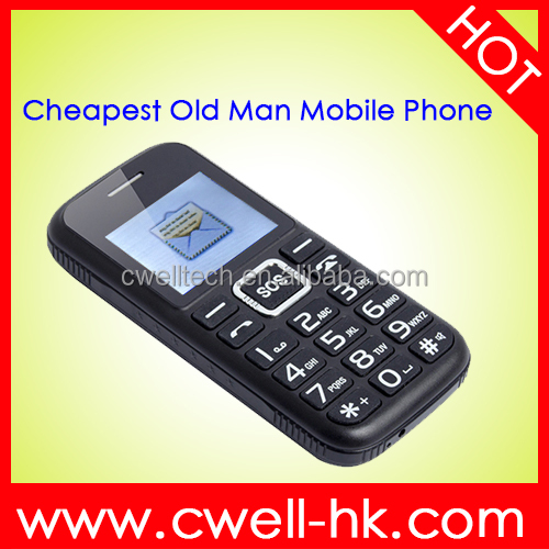 Old Man Mobile Phone MOQ 3000PCS Sample Available Free Sample Phone