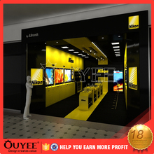 modern simple MDF retail mobile phone covers display furniture store interior design fixure