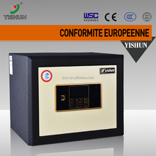 Electronic fingerprint digital safe deposit antique floor safes for hotel