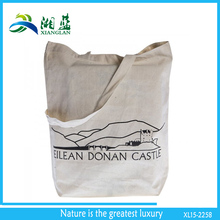 recycle unbleached organic natural cotton tote bag from 150gsm cotton