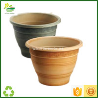 Hot sale outdoor plastic emboss sculpture window planter boxes