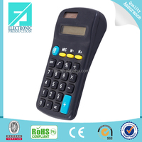Fupu colourful mini gift 8 digit desktop dual power calculator