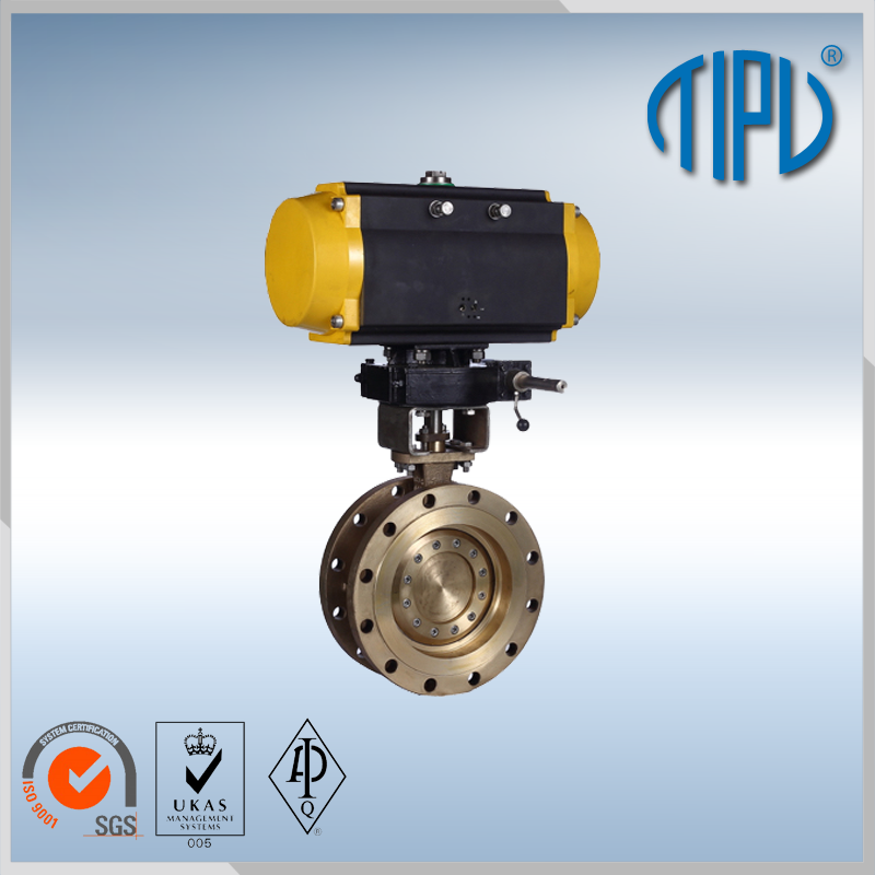 Motor Operated Valve Electric Actuator Butterfly Valve