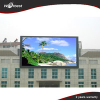 high refresh rate full xx video p6 outdoor led display