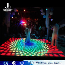 led professional lighting illuminated glass dance floor for sale