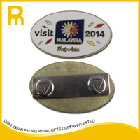 Fantastic quality custom metal lapel pin with strong magnetic