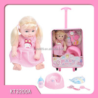 Plastic 12 Inches Baby Doll For Children