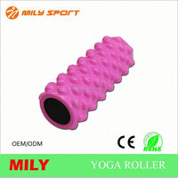 ML-1001 36*13cm Pink great for improving muscle mobility EVA roller