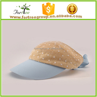 top selling fashion bulk sale visor caps for promotion