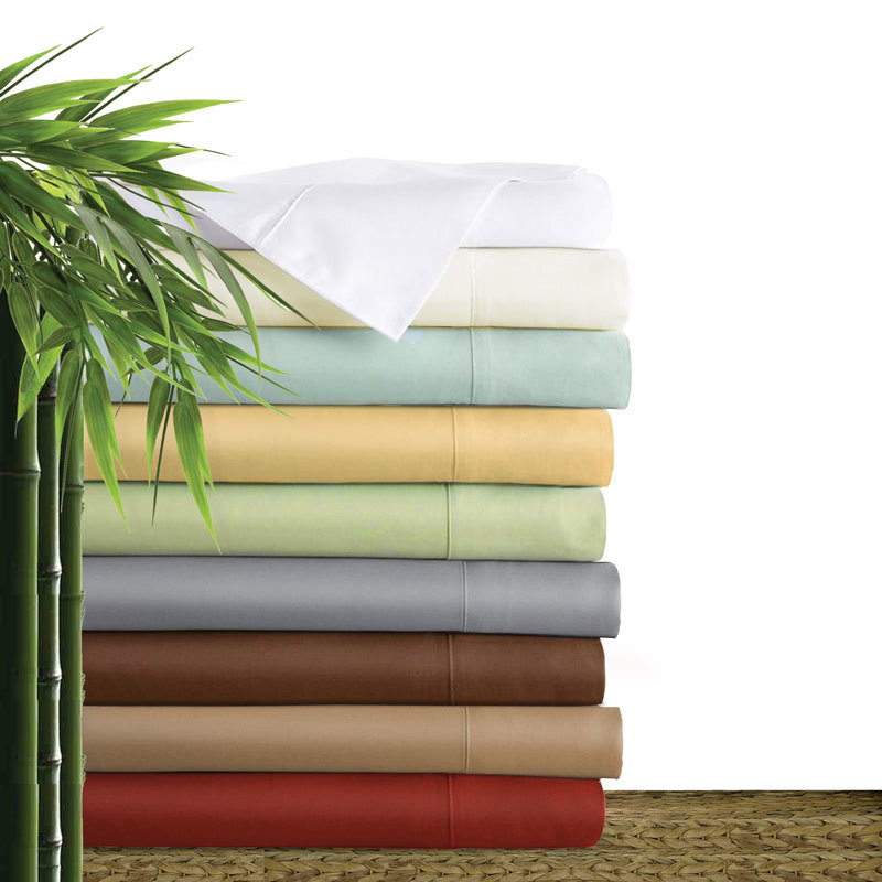Soft and silky 100% organic bamboo bedsheet,bamboo sheet set,bamboo bedding set