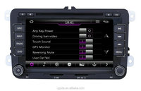 ugode car dvd player auto radio gps navigation bt usb for skoda Yeti