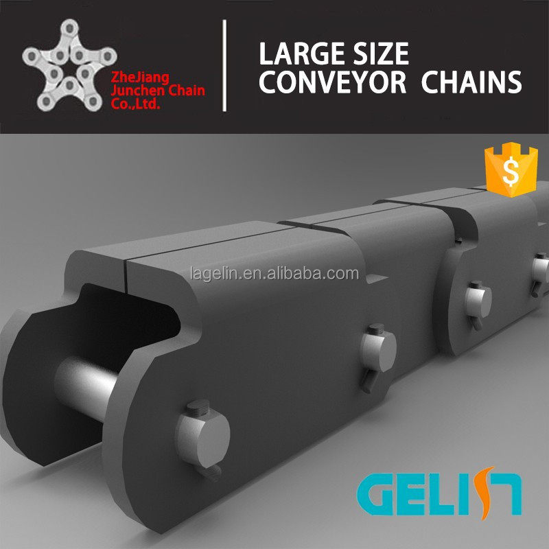 81XF1(RT) large pitch lumber conveyor chain for wood