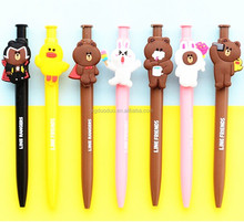 funny stationeries set for children cartoon characters pen
