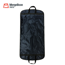 Personalized Customized suit carrier travel zip lock garment bag for men