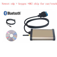 Newest CDP with keygen for autocom cd Car Pro For Cars & trucks(Compact Diagnostic Partner) OKI CHIP diagnostic tool OBD Scanner