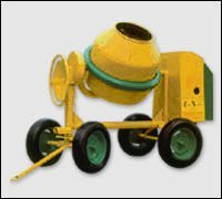 Concrete mixer to tow mod. S360 type S85 A Electric motor