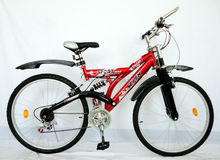 "lowest price red mountain bike/MTB 26"" SH-SMTB090"