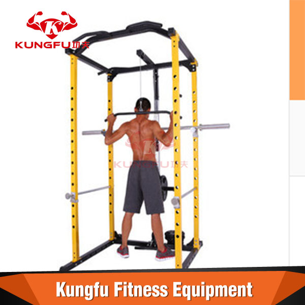 Home crossfit training use multifunction power rack