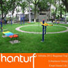 Easy and quick installation outdoor playground synthetic turf carpet