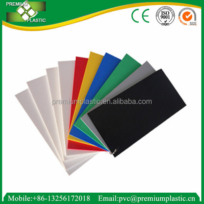 1.0~30mm foamd PVC plastic roof sheets / flexible plastic sheets / pvc foam board