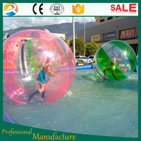 colorful giant inflatable water walking ball rental for sale
