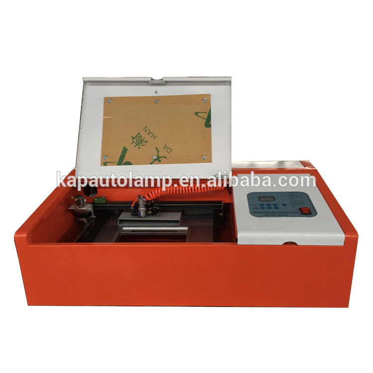 Cheap price keyboard Co2 40w KL-320 laser engraving machine for certificates