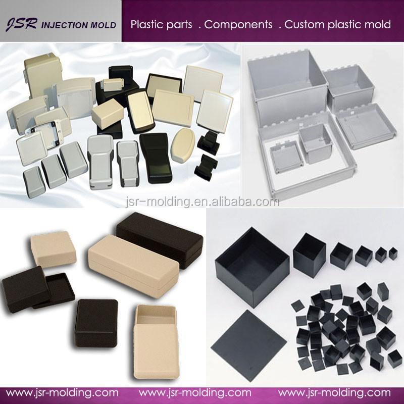 Custom high quality molded plastic box enclosure electronic