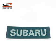 Finely processed Ultrasonic cut heat seal custom embroidery garment neck label woven label