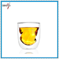 High Quality Competitive Price Borosilicate Small Double Wall Glass Tea Cups