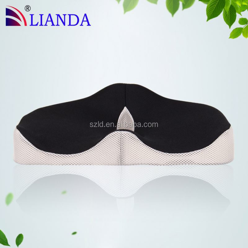 memory foam gel seat cushion/ soft and comfort memory foam car seat cushion/ portable sport stadium seat cushion