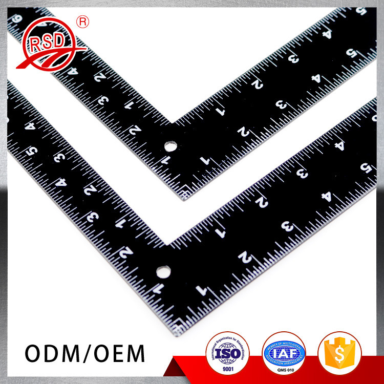 Try Square 200mm 300mm Stainless Steel Square Ruler L shaped Right Angle Ruler