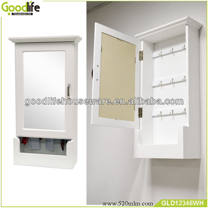 Wall Mounted Wooden Key Cabinet Made In China