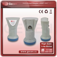 digital type universal Ku-Band Universal Single LNBF/ku/c band single lnb with factory price